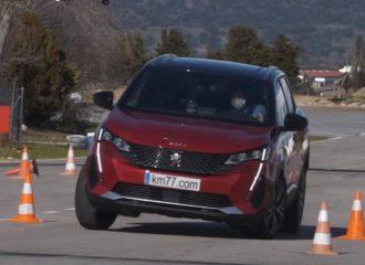Λιοντάρι το νέο Peugeot 3008 στον τάρανδο