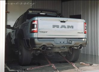 «Δάκρυσε» το δυναμόμετρο με το Ram TRX (+video)