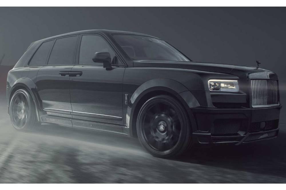 Βαρώνος ροπής Rolls-Royce Cullinan με 1.060 Nm