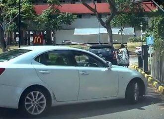 Toyota έφυγε μόνο του και έκανε χαμό (+video)