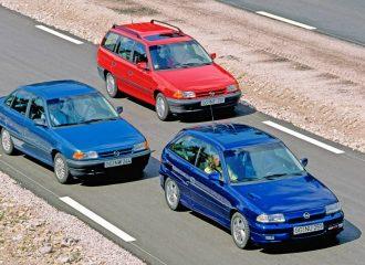 Το πρώτο Opel Astra γιορτάζει τα 30 του χρόνια