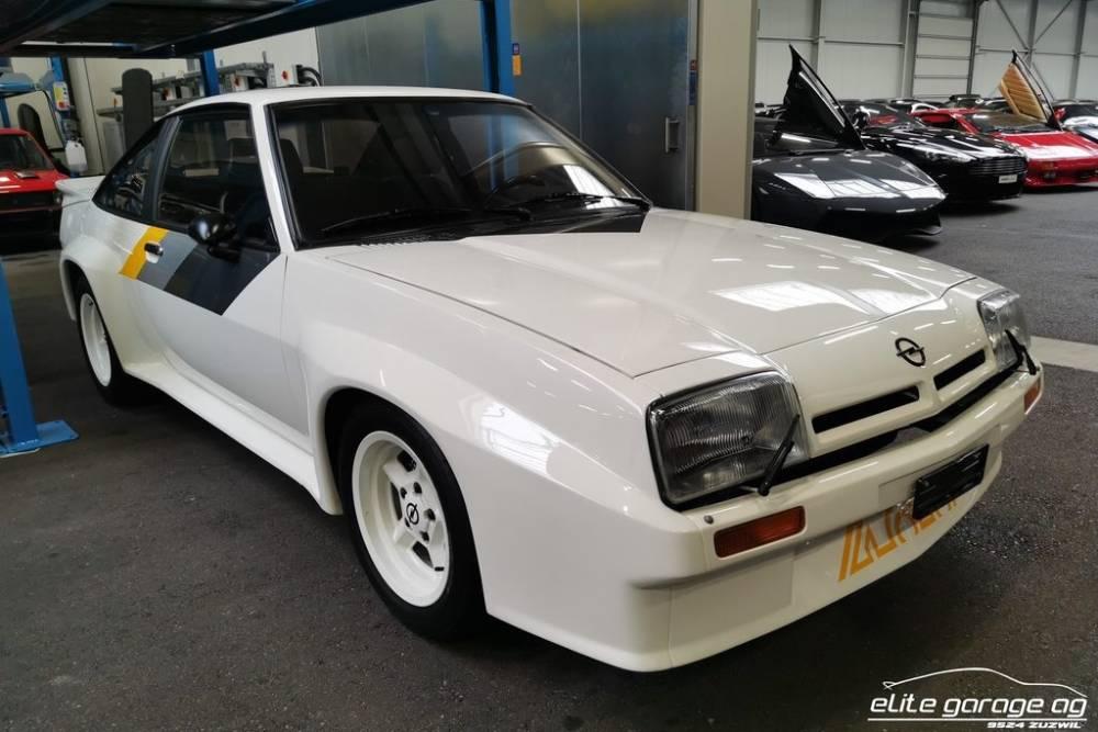 Τρελά λεφτά για ένα από τα ελάχιστα Opel Manta 400