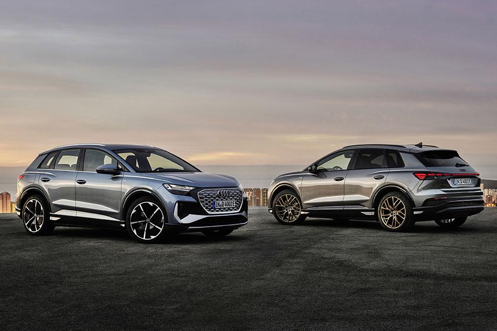 Ιδού τα νέα Audi Q4 e-tron & Q4 Sportback e-tron