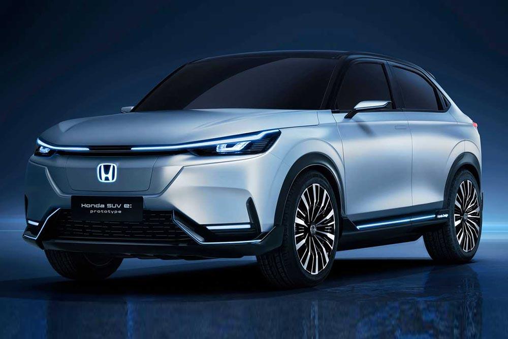 Το SUV E:Prototype δείχνει το ρεύμα της Honda