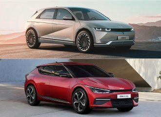 Hyundai Ioniq 5 - Kia EV6: Διαφορές & ομοιότητες!