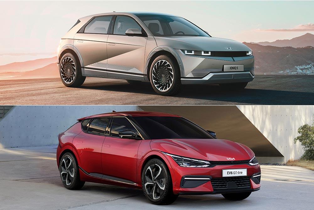 Hyundai Ioniq 5 – Kia EV6: Διαφορές & ομοιότητες!
