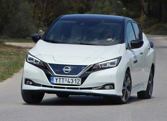 Δοκιμή Nissan LEAF+ 217 PS