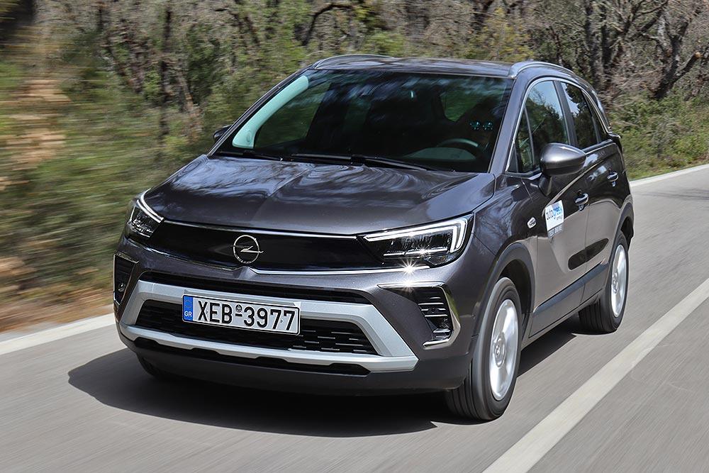 Δοκιμή Opel Crossland 1.5D 120 PS Auto