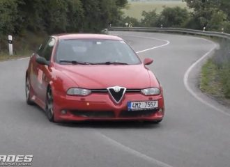 Ανάβαση με Alfa Romeo 156 GTA (+video)