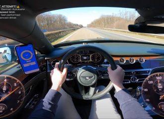 Αριστοκρατικά γκάζια με Bentley Flying Spur (+video)