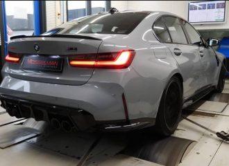 «Σάλεψε» το δυναμόμετρο η BMW M3 (+video)