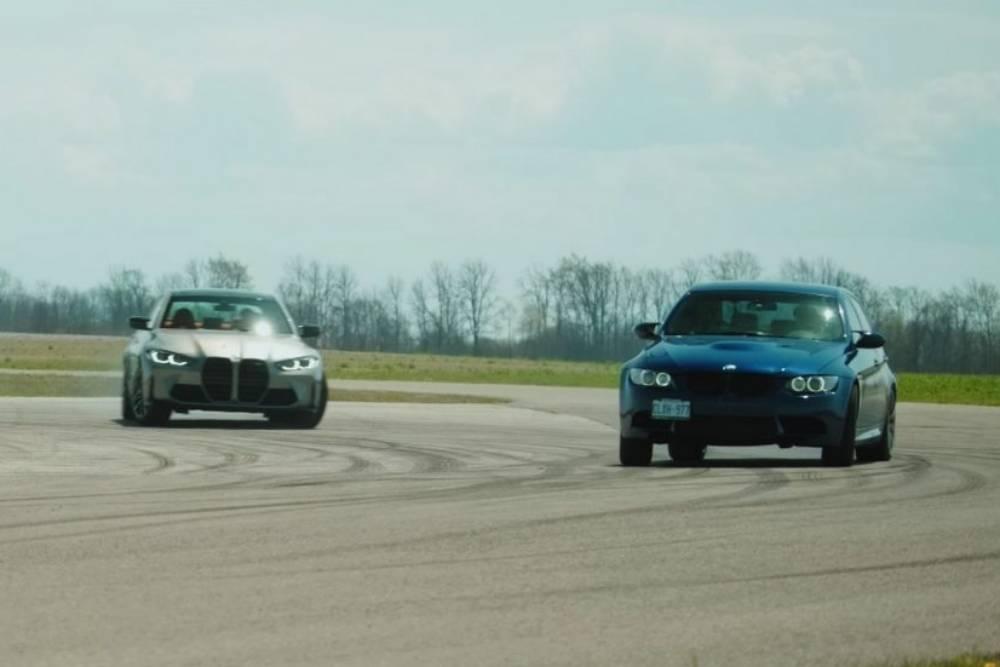 Νέα BMW M3 ή την παλιά, καλή V8; (+video)