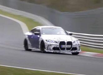 «Κουβάρια» η BMW M4 CSL στο 'Ring (+video)