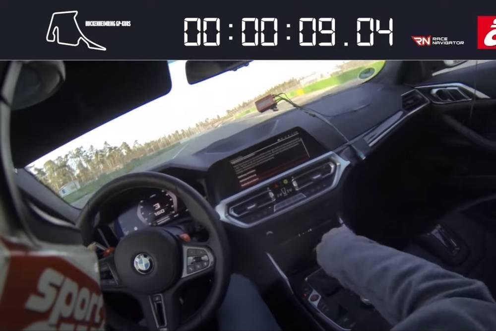 Χειροκίνητη μαγεία από τη BMW M4 (+video)