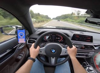 Λουσάτες 300άρες με BMW M760 Li (+video)