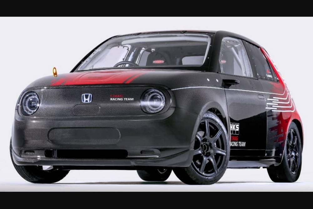 Εργοστασιακά κοντράδικο Honda e-Drag