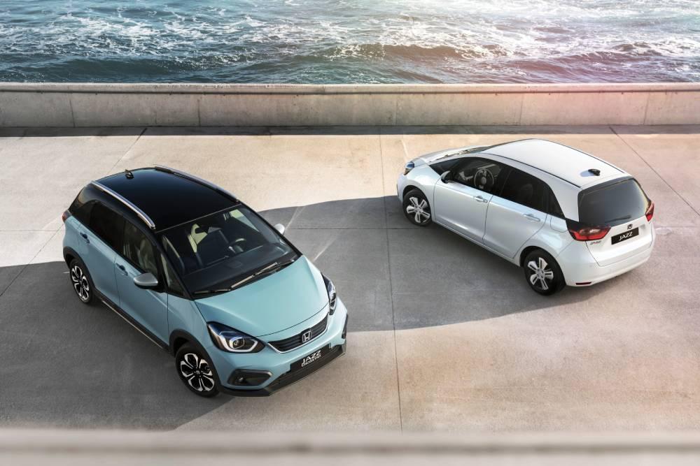 Βραβεία σχεδιασμού για τα νέα Honda Jazz και Crosstar