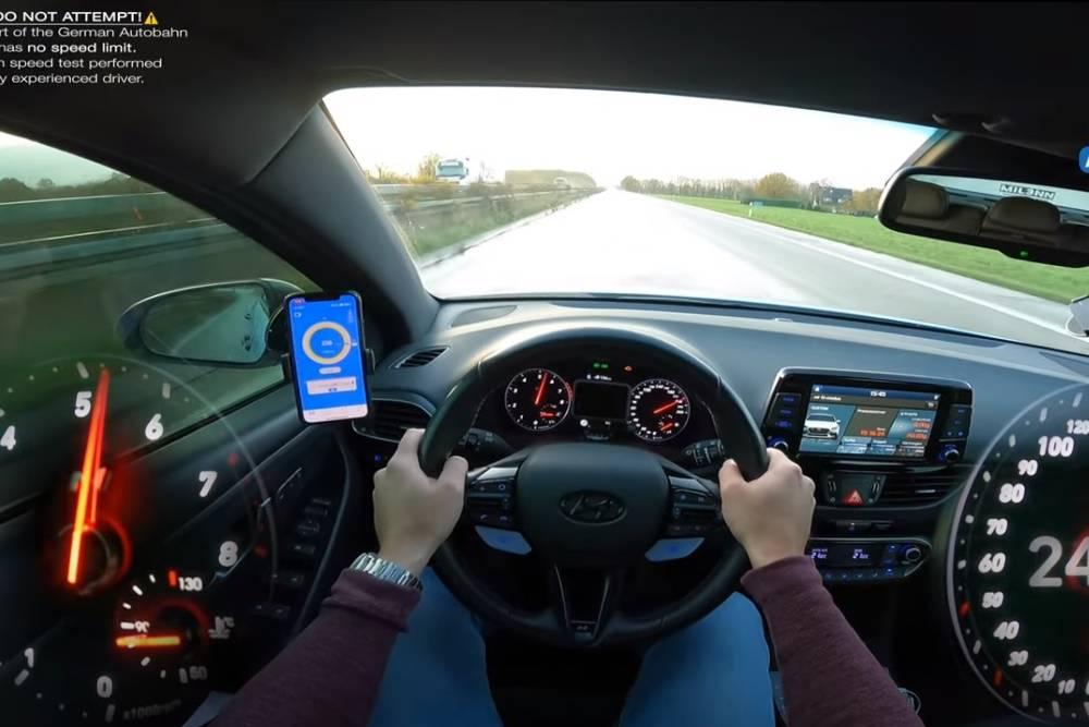 Βρεγμένη «σανίδα» με Hyundai i30 N 300 HP (+video)