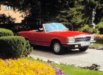 Μισός αιώνας από την αρχοντική Mercedes SL R107