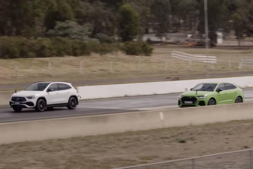 Η AMG GLA 45 S «γειώνει» το RS Q3 (+video)