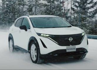 Η Nissan «τεντώνει» το Ariya στις δοκιμές (+video)