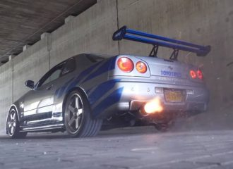 Nissan Skyline 450 ίππων ανάβει φωτιές (+video)