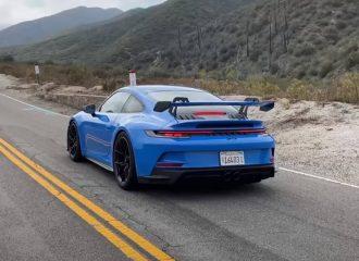 9άρες στο βουνό με την Porsche 911 GT3 (+video)