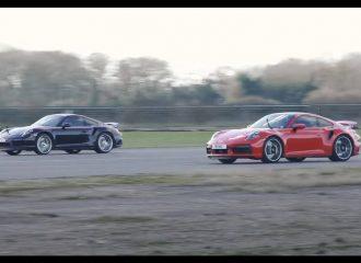 Πόσες καρότσες ρίχνει η νέα στην παλιά 911 Turbo S;