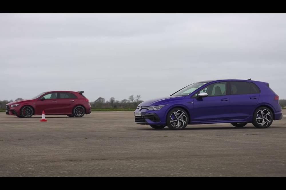 Έχει ελπίδα το Golf R κόντρα στην A45 S; (+video)