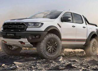 Νέο και ακόμα πιο μπρουτάλ Ford Ranger Raptor X