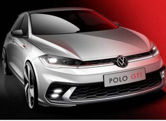 Το νέο VW Polo GTI δείχνει το πρόσωπό του