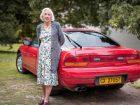 Γιαγιά ετών 87 με Nissan 200SX!
