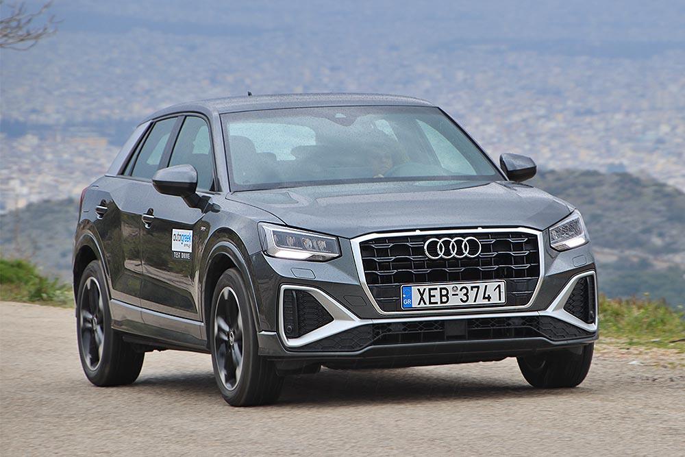 Δοκιμή Audi Q2 S line 35 TFSI S tronic 150 PS