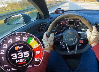 Τελικές με Audi R8 Spyder Performance!(+video)