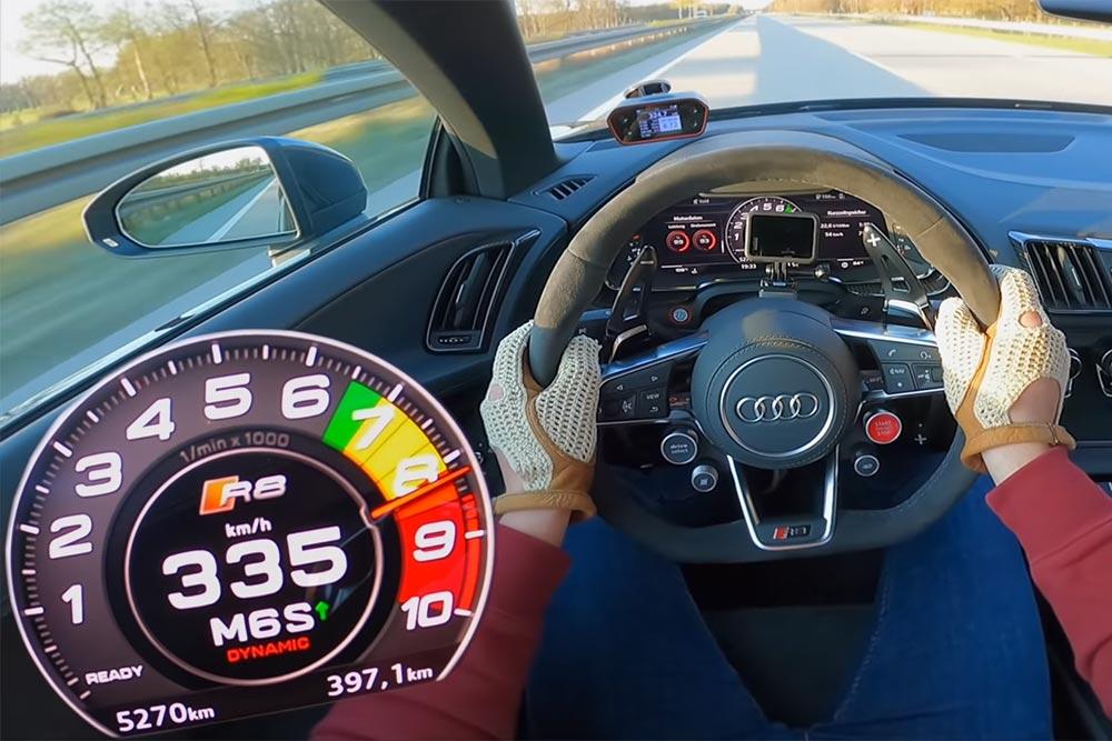 Τελικές με Audi R8 Spyder Performance!(+video)