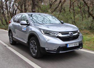 Δοκιμή Honda CR-V e:HEV AWD