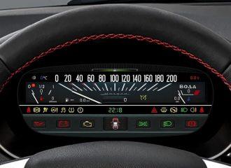Ψηφιακός πίνακας με ταχύμετρο αλά παλαιά