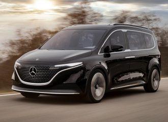 Εντυπωσιάζει η ηλεκτρική Mercedes Concept EQT!