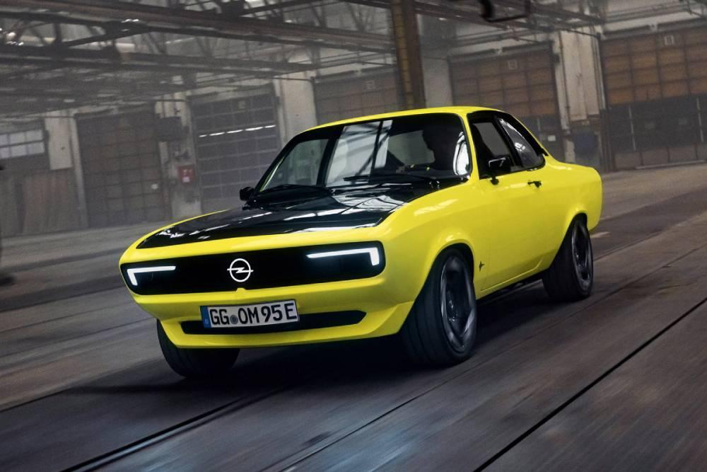 Ταξίδι στο χρόνο με το νέο Opel Manta GSe Elektromod