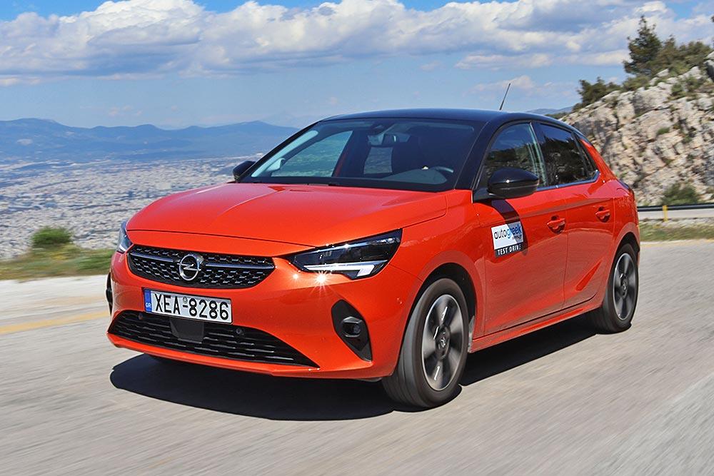 Δοκιμή Opel Corsa-e 136 PS