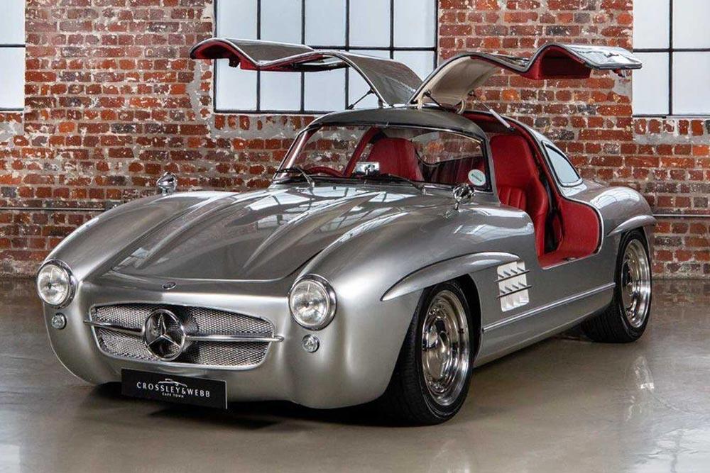 Mercedes SLK του 2001 έγινε 300 SL Gullwing!