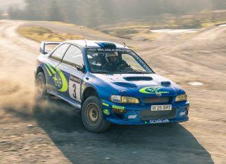 Πωλείται το Subaru Impreza WRC του Richard Burns