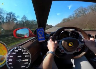 300άρες στην autobahn με Ferrari FF V12 (+video)