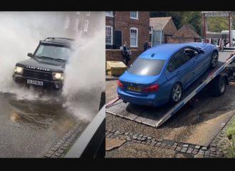 Πλημμυρισμένος δρόμος «χρύσωσε» την οδική! (+video)