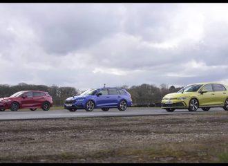 Αλλαγές πετρελαίων με Golf GTD, Octavia RS και 120d
