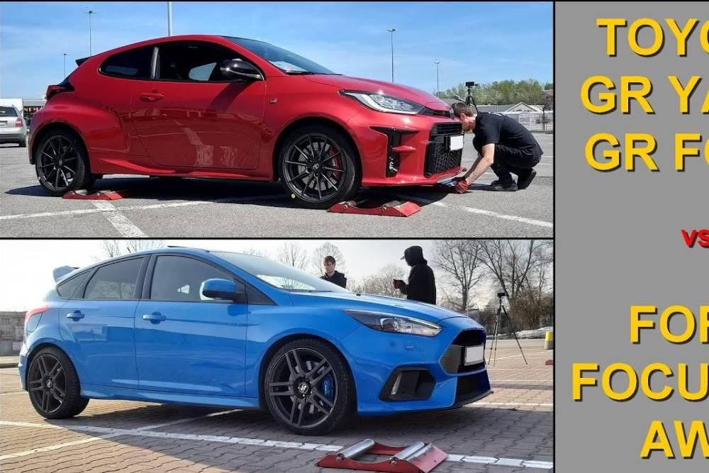 GR Yaris vs Focus RS: Ποιο έχει καλύτερη τετρακίνηση; (+video)