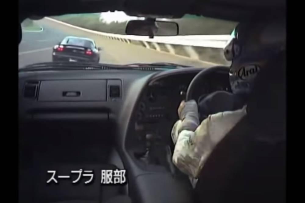 Καταδίωξη στα 260 χλμ./ώρα με Supra και RX-7 (+video)