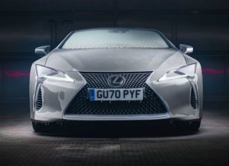 Lexus πήρε μπροστά μετά από 12 ώρες στην κατάψυξη (+video)