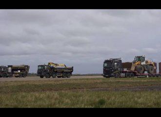 «Φορτωμένη» κόντρα 115 τόνων με Scania (+video)