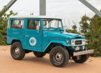 Ελληνικό Toyota Land Cruiser σε διεθνή δημοπρασία!